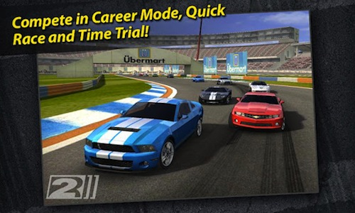 Samsung Wave  Car Race Games Free Download