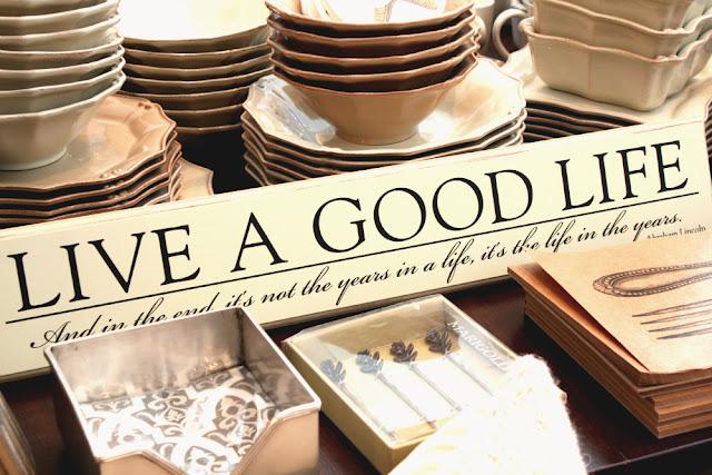 live a good life - B. On Main