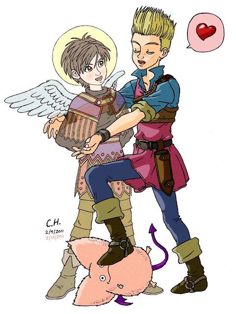 DQ IX Valentine
