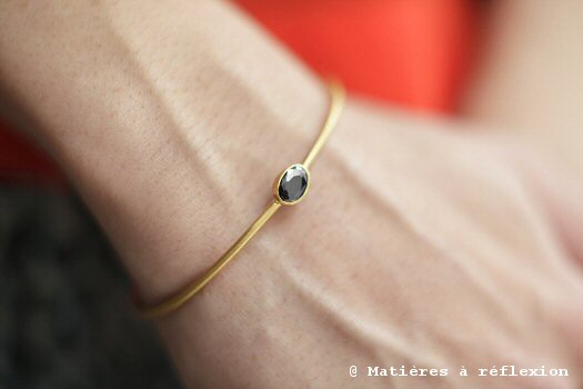 Bracelet jonc Coopérative de création