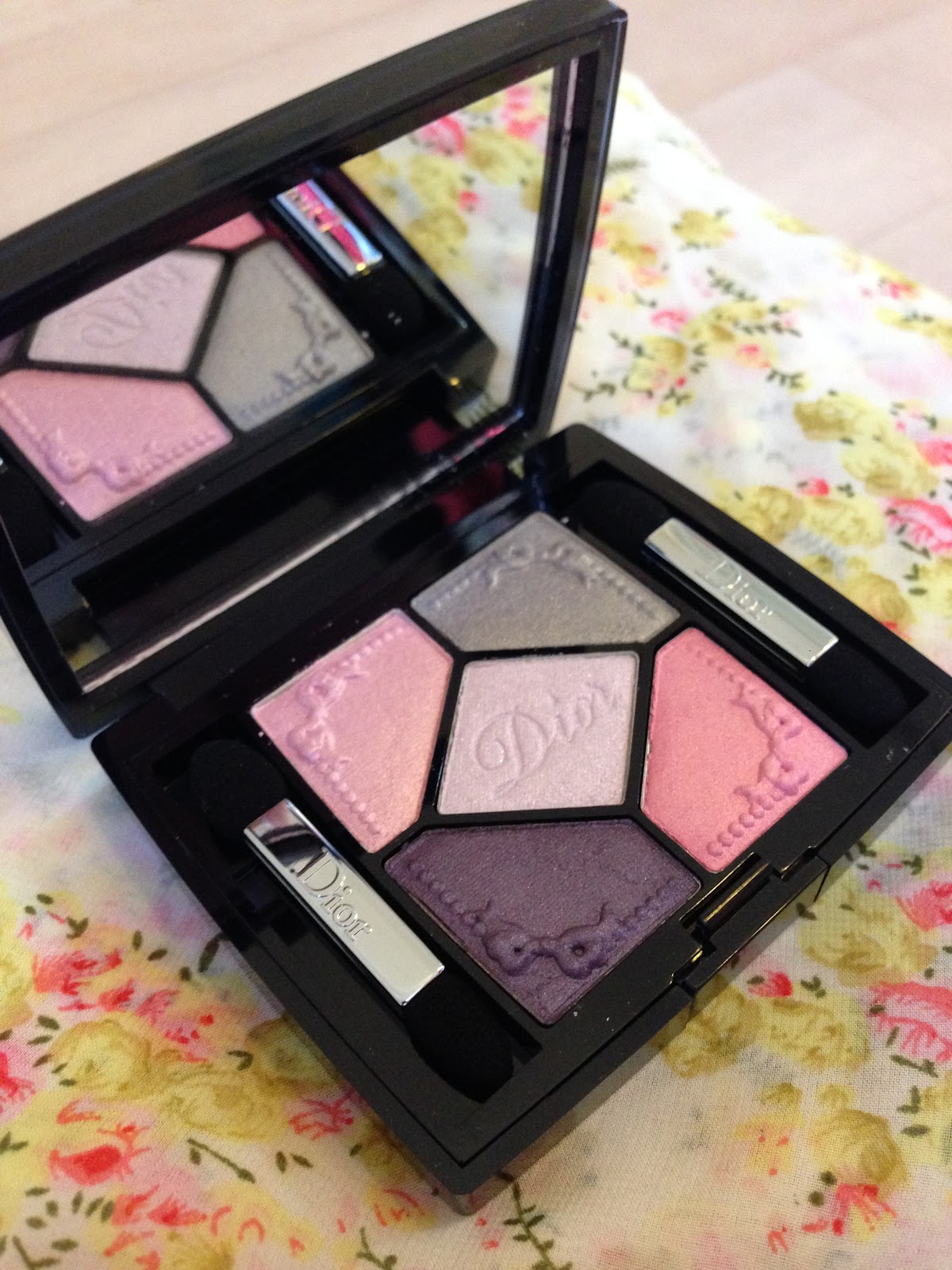 Dior Trianon 5 Couleurs Limited Edition Palette in Pink Pompadour