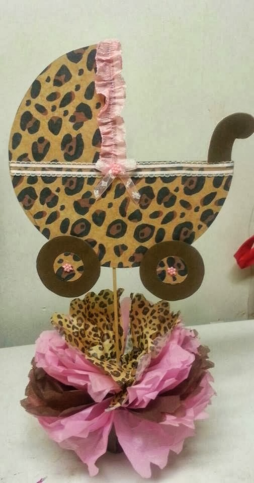 adriana 39 s creations baby shower theme centerpieces