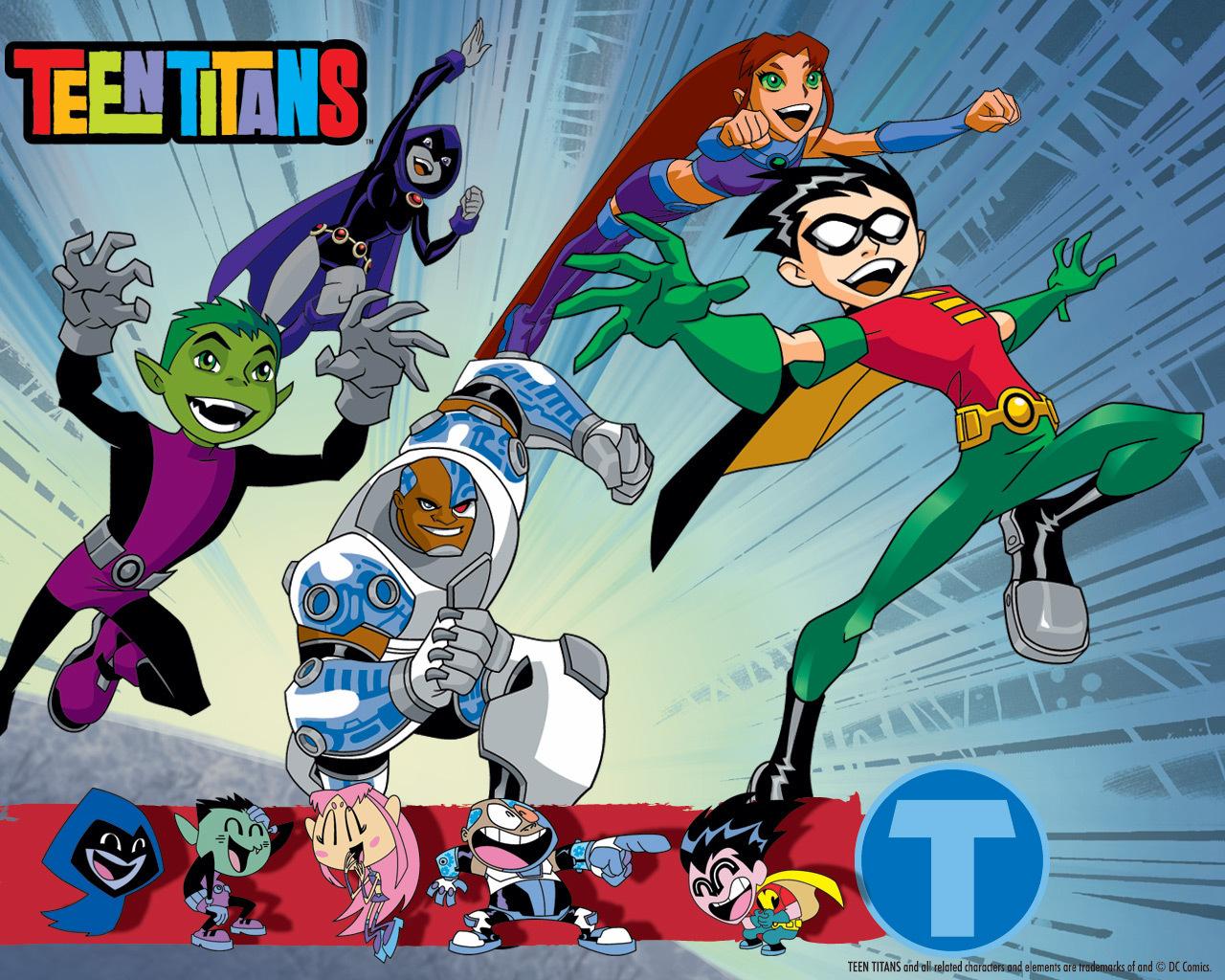 Papel De Parede Hd Wallpapers Teen Titans Papeis De
