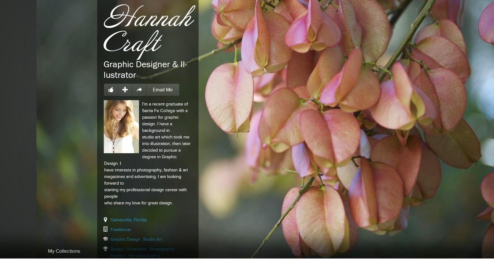 Hannah Craft, Graphic Designer & Illustrator