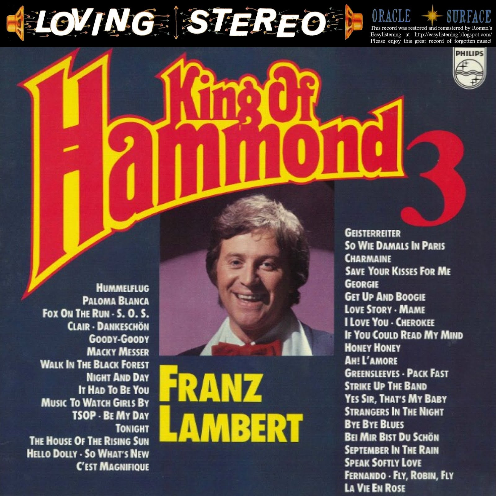 Franz Lambert - Hammond Hitparade 5