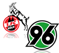 Live Stream FC Köln - Hannover 96