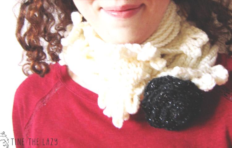 neck warmer by La muscetta della torre d'avorio