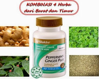 Peppermint-Ginger Plus Shaklee
