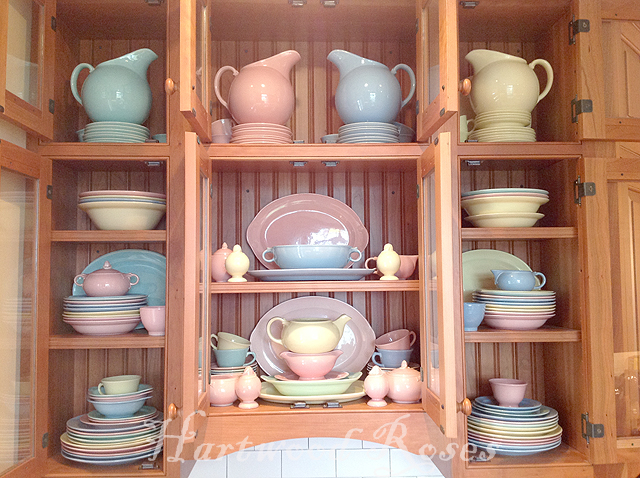 Hartwood Roses Moving Things Around & Cool Lu Ray Pastels Dinnerware Contemporary - Best Image Engine ...