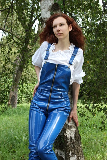 Leather Overalls And Coveralls