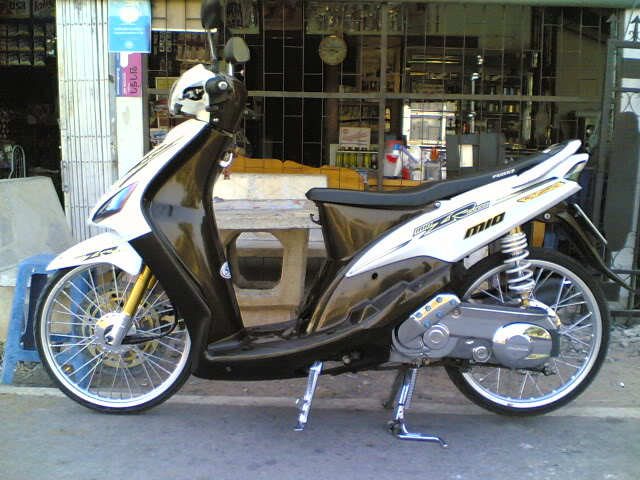 Modif Motor Yamaha Klasik