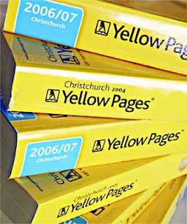 Yellow pages phone book ontario toronto
