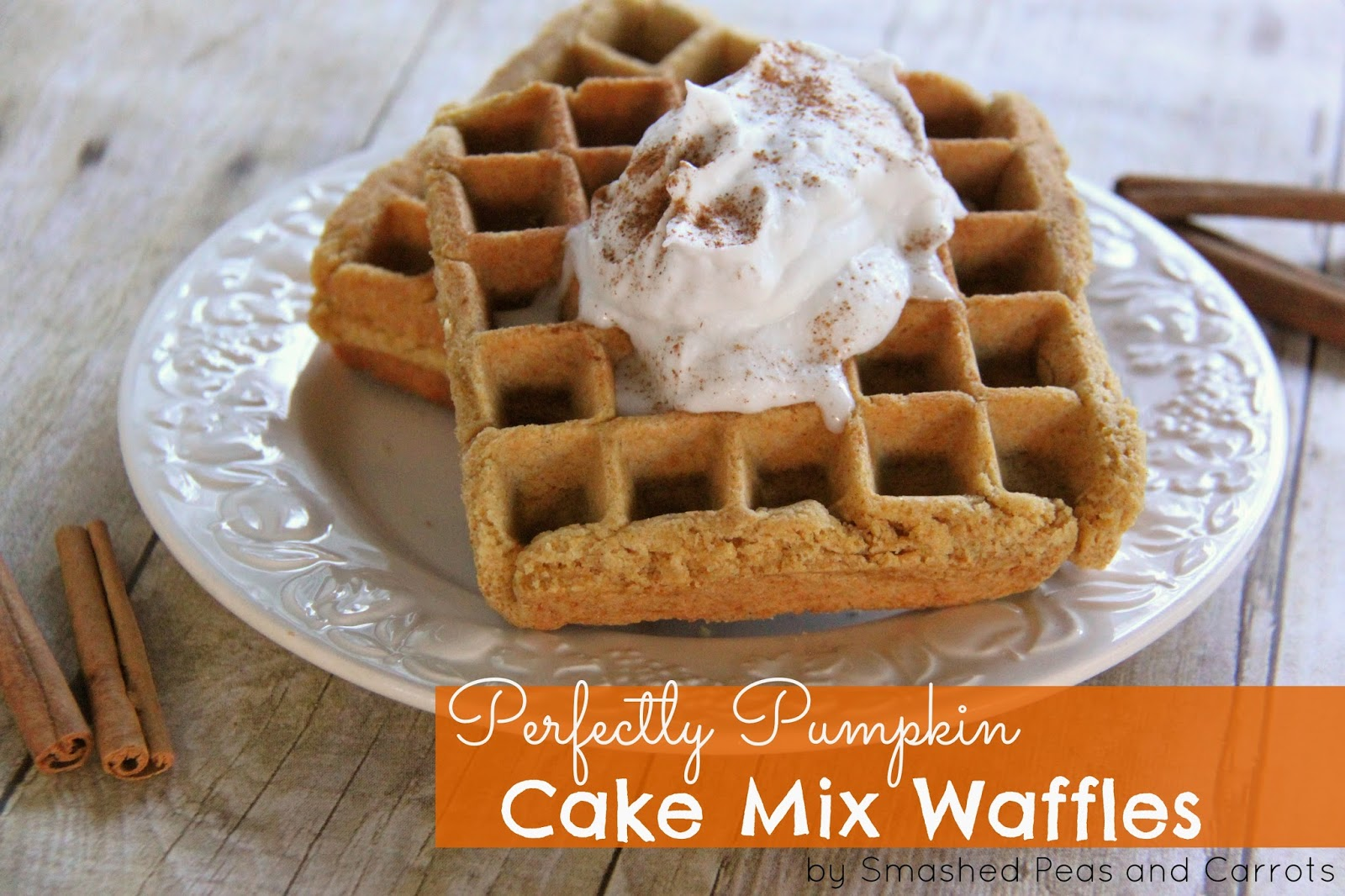 Sand Art Cake Mix : RECIPE: Perfectly Pumpkin Cake Mix Waffles - Smashed Peas ...