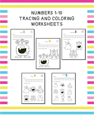https://www.teacherspayteachers.com/Product/Numbers-1-10-Tracing-and-Coloring-Pages-1709881