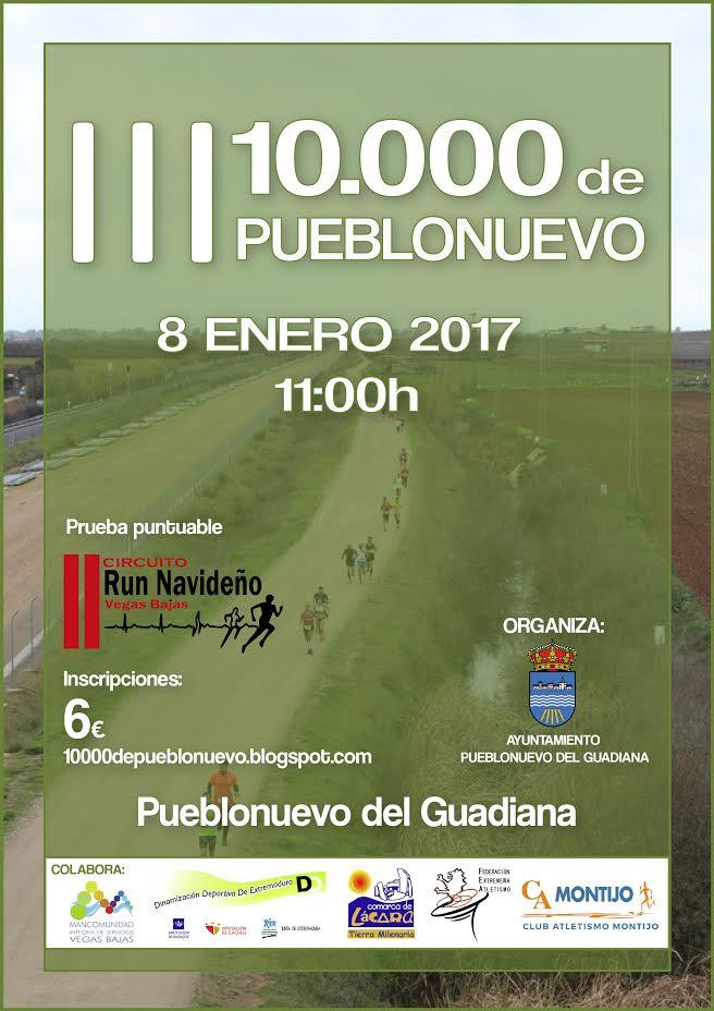 Los 10.000 de Pueblonuevo 2017