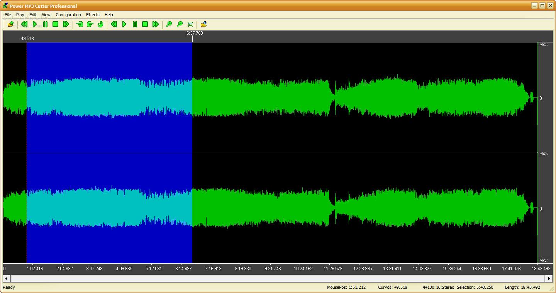 تحميل برنامج لتقطيع الصوتيات mp3  إلى أجزاء, Power Recorder Cutter