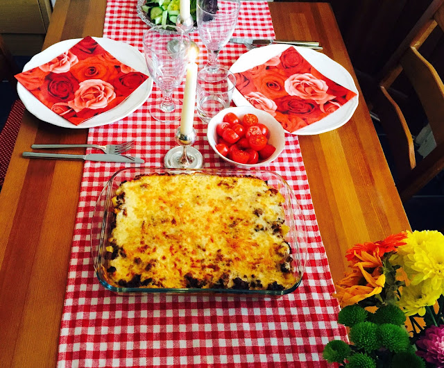 Table for two - Greek lamb pastitsio
