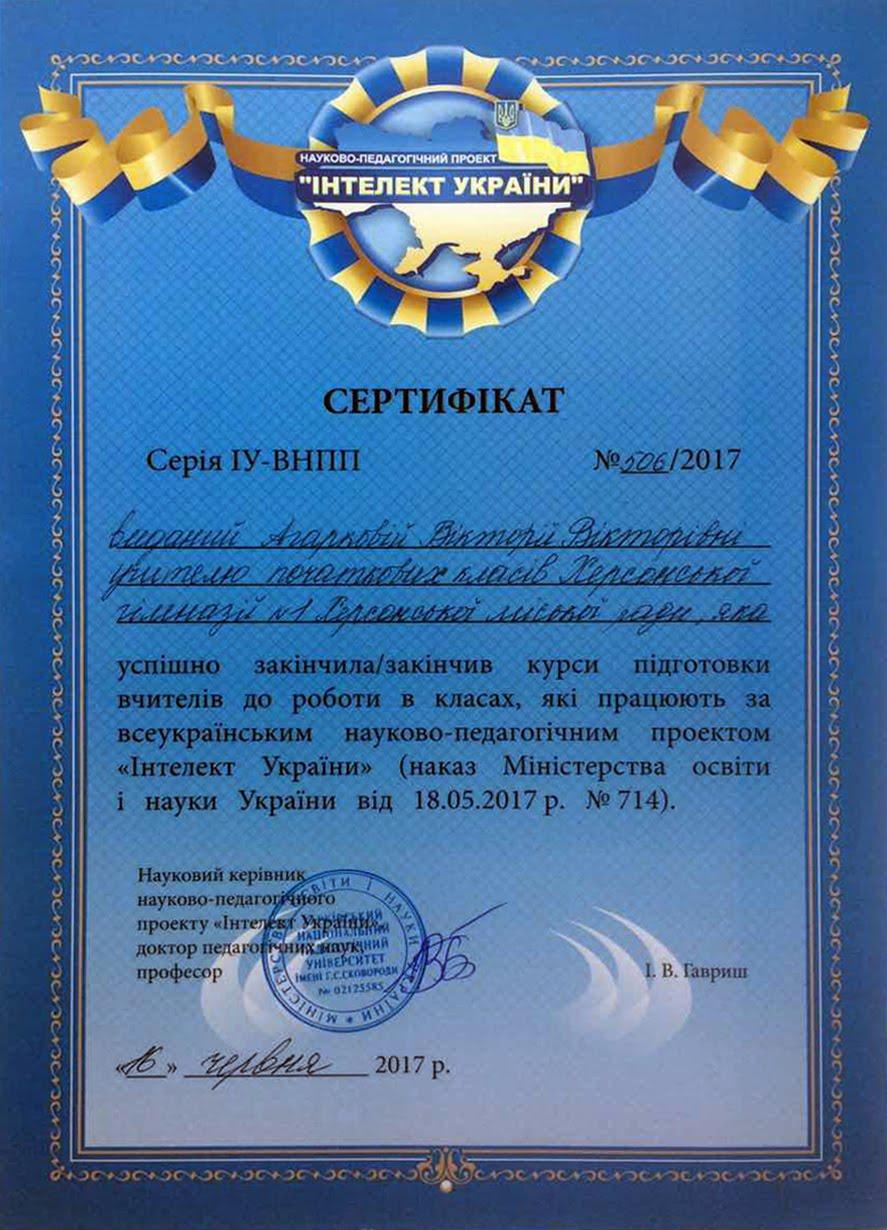 Електронні сертифікати