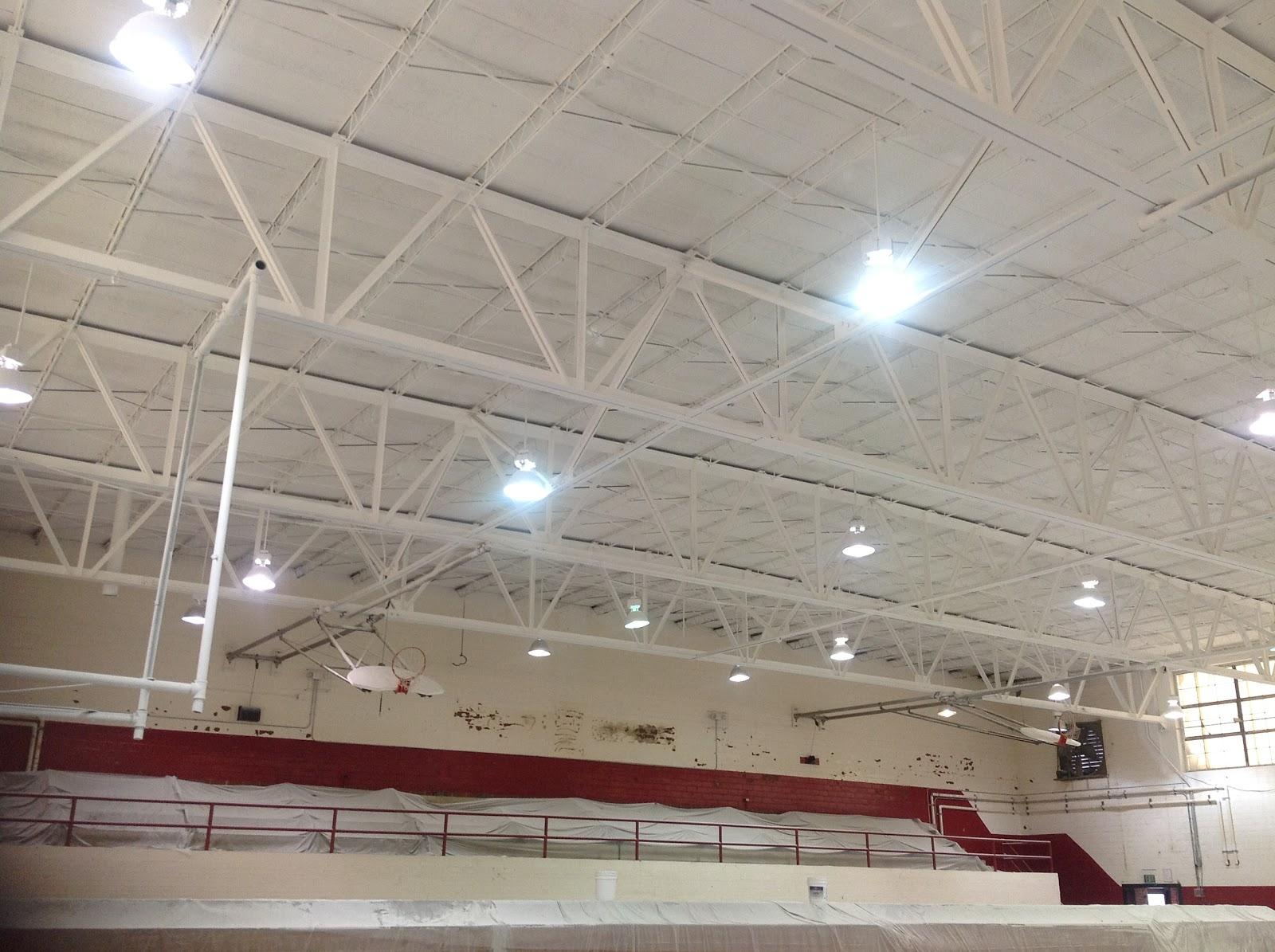 Superintendent s corner upgrades on gyms begin