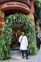 Escaparate Chelsea Flower Show. Jardinería