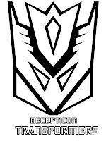 Decepticon Transformer Logo Symbol