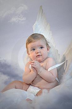 Baby Angel Praying