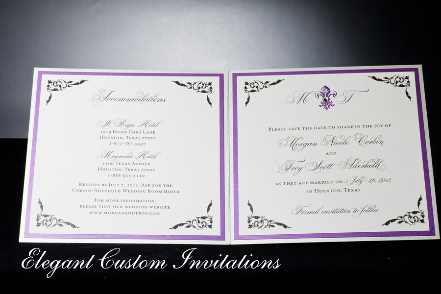custom wedding invitations Isabella Invitations