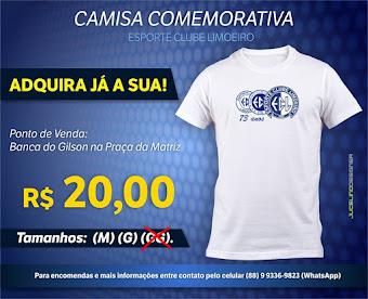 CAMISA COMEMORATIVA DO ESPORTE
