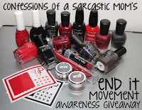 End It Movement awareness giveaway