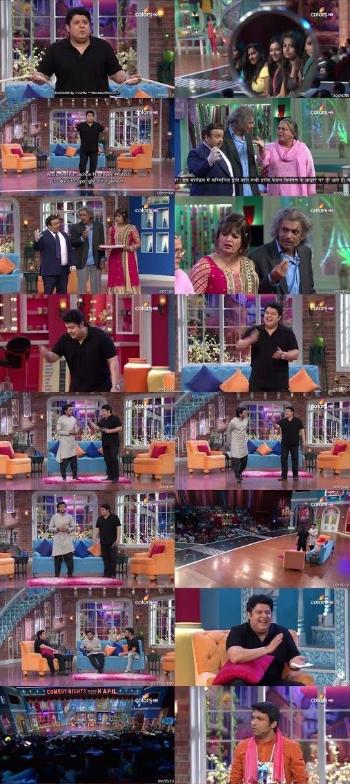 Comedy Nights With Kapil 02 Aug 2015 HDTV 480p