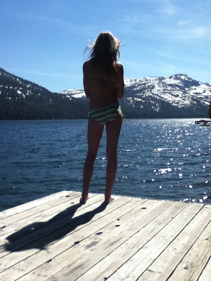 Truckee adventures donner lake on a sunny day for Donner lake fishing report