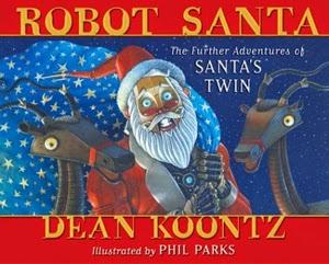 Portada de Robot Santa, de Dean Koontz