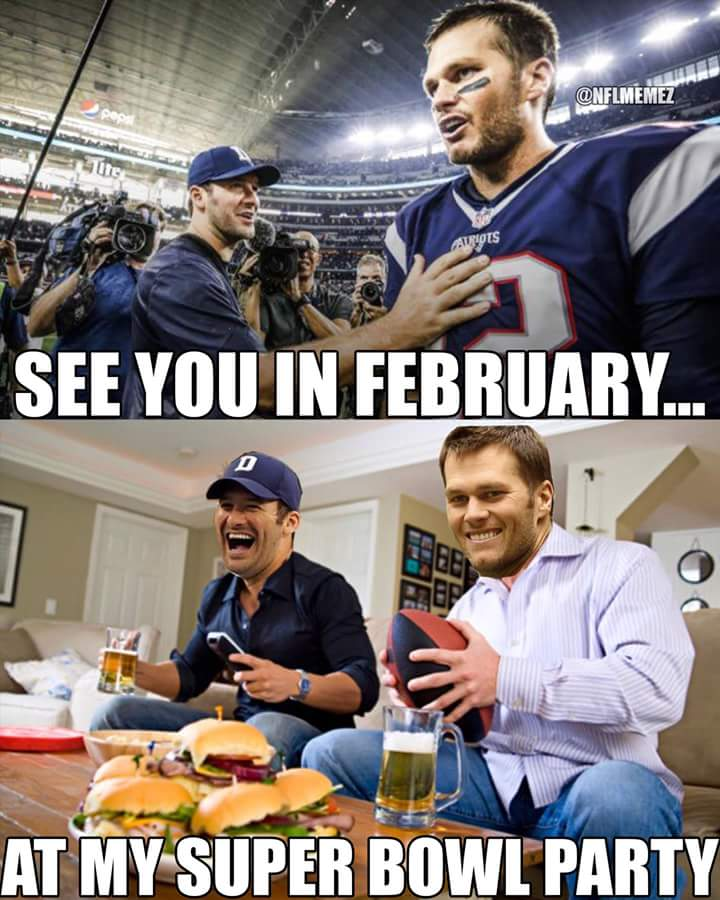 #cowboys #patriots #nfl.-see you in february.. at my super bowl party