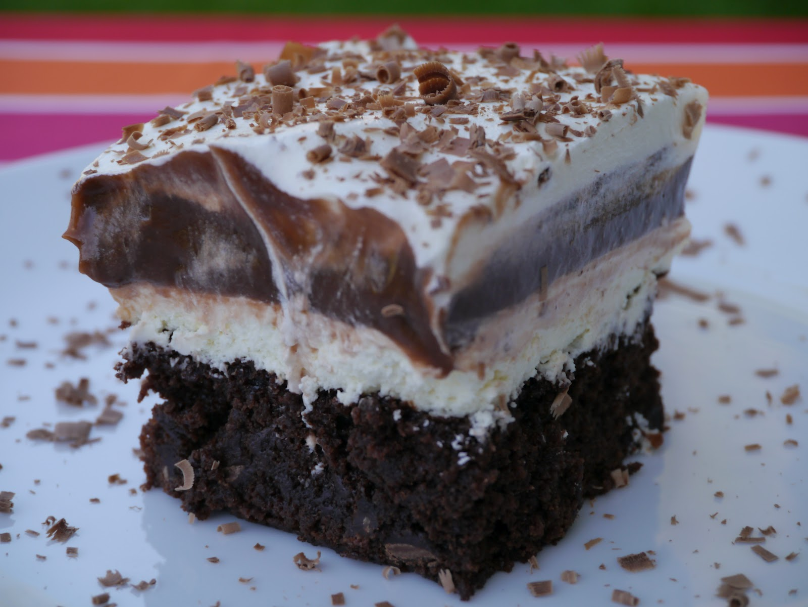 brownie pudding recipe myrecipes com chocolate brownie pudding in ...