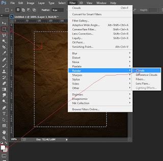 Desain Photoshop membuat Foto Retro