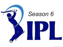 IPL6 matches schedule