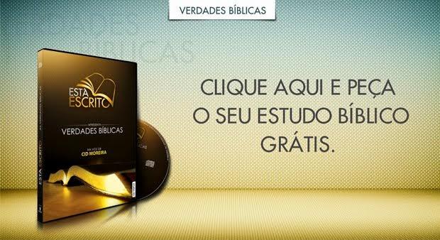 Curso Bíblico grátis em aúdio: Ouvindo a Voz de Deus!  Na voz de Cid Moreira