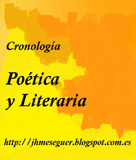 Cronología Poética y Literaria