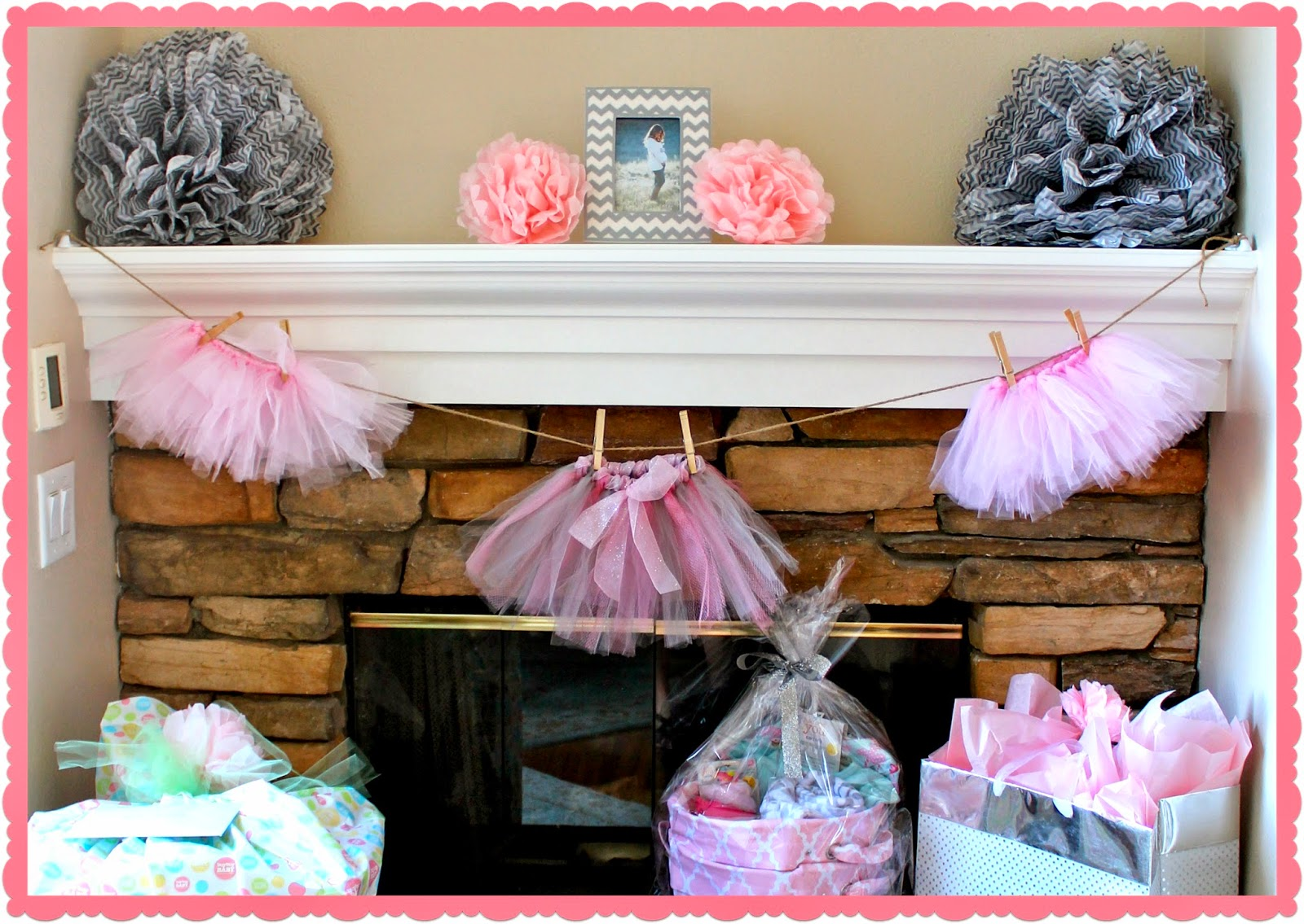 My Tutu Cute Baby Shower Crafty Mom Blog