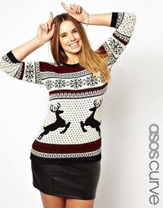 Plus Size Christmas Sweaters Latest Fashion Trend