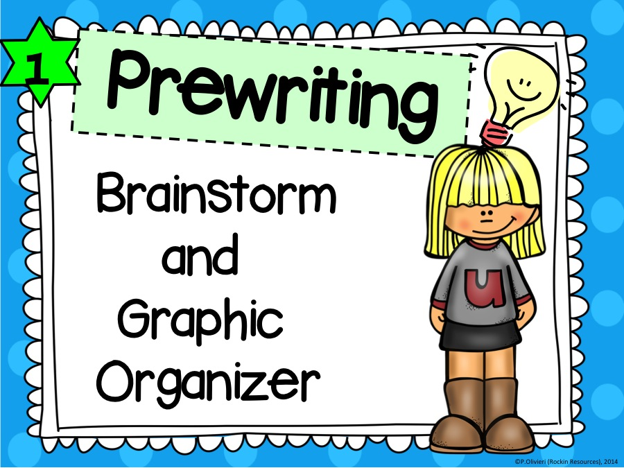 What is the first step students should take in the prewriting process?