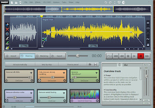 audio editor MAGIX Audio Cleaning Lab MX 18