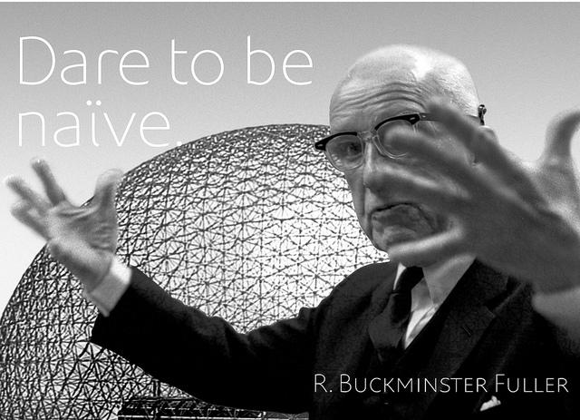 Buckminster Fuller by Chris Lozos