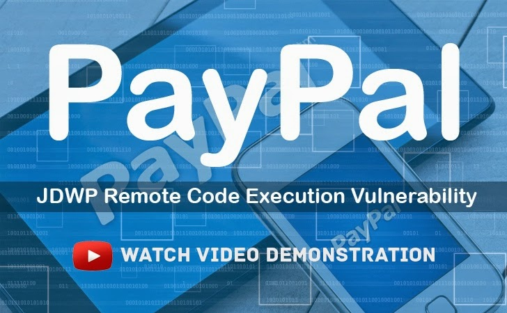 [Video] PayPal Remote Code Execution Vulnerability Demonstrated by Hacker