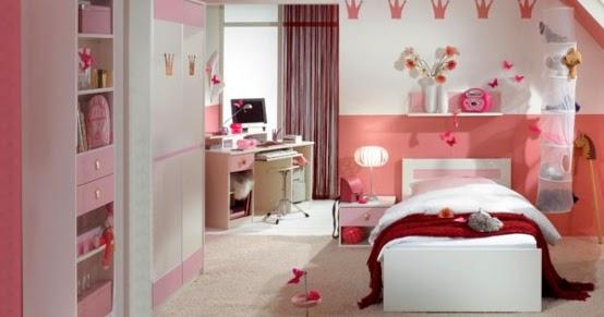 Chambre Bebe Jaune Gris : Chambres à coucher roses pour les filles ~ Décor de Maison