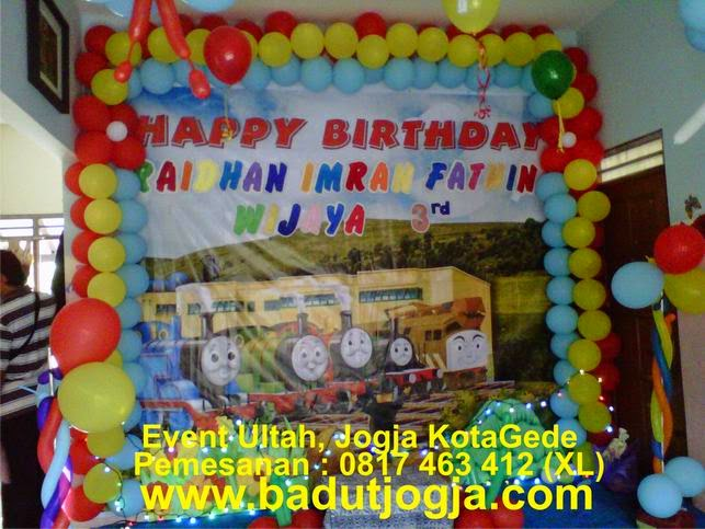 Badut ultah jogjakarta pesta ulang tahun anak jogjakarta for Dekor ulang tahun