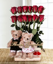 Flowers & Big Teddy delivery in Thailand with price