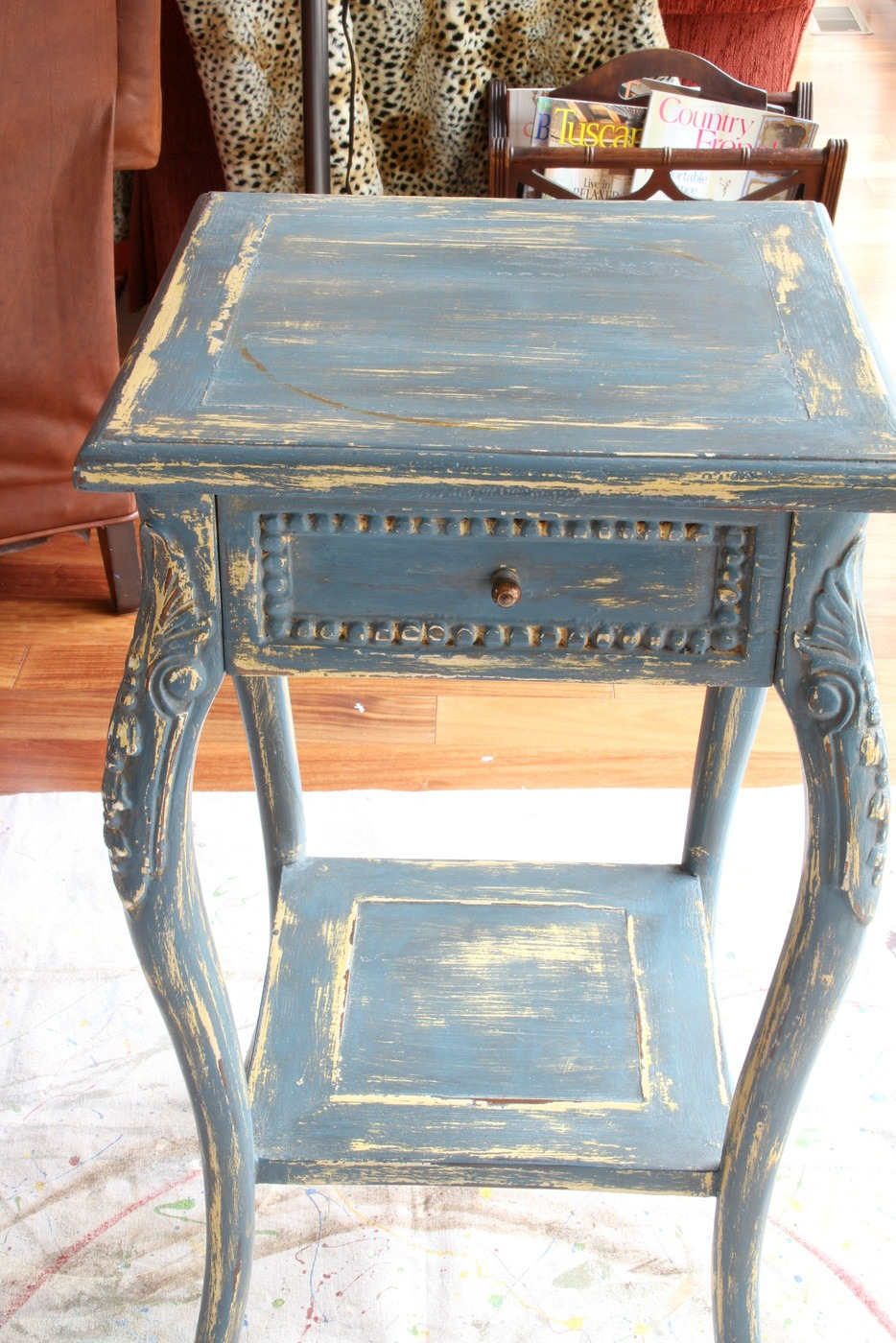 Savvy southern style tiny table transformationain 1172013 geotapseo Image collections