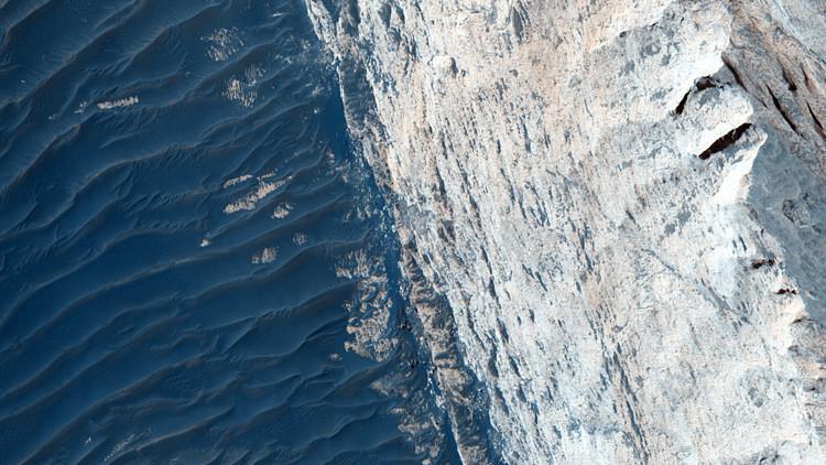 Cañón de Ofir en Marte