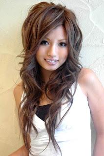 trend+model+rambut+cewek+korea Model Gaya Rambut Pria dan Wanita Terbaru
